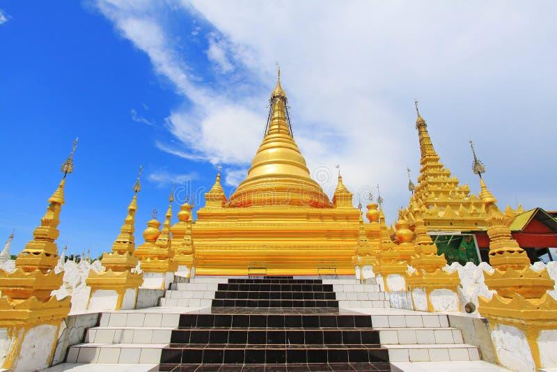 Pagode de Sandamuni, Mandalay, Myanmar imagens de stock