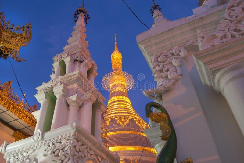 Pagode de Shwedagon, Burma. imagens de stock royalty free