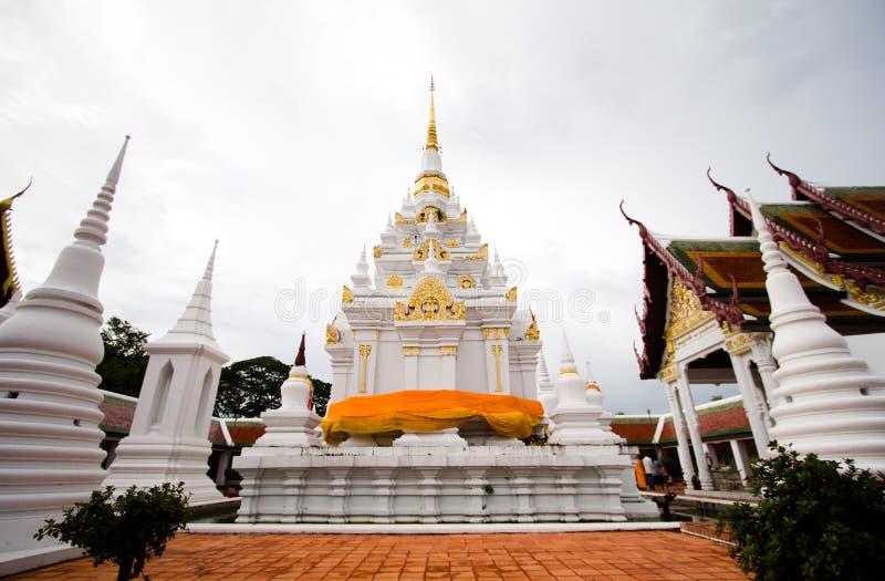 Pagode in de tempel royalty-vrije stock fotografie