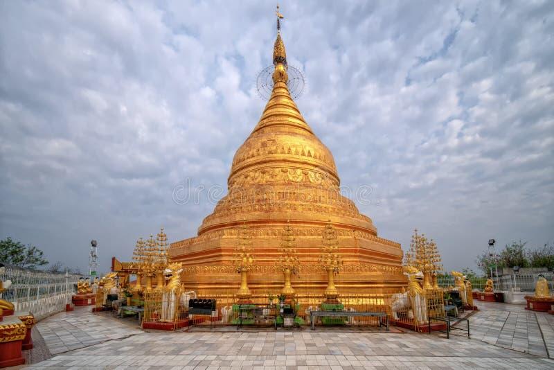 Pagode de Tuyin Taung imagem de stock royalty free