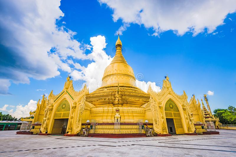 Pagode de Yangon, Myanmar fotografia de stock royalty free