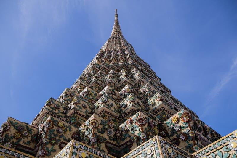 Pagode em Wat Pho imagens de stock royalty free