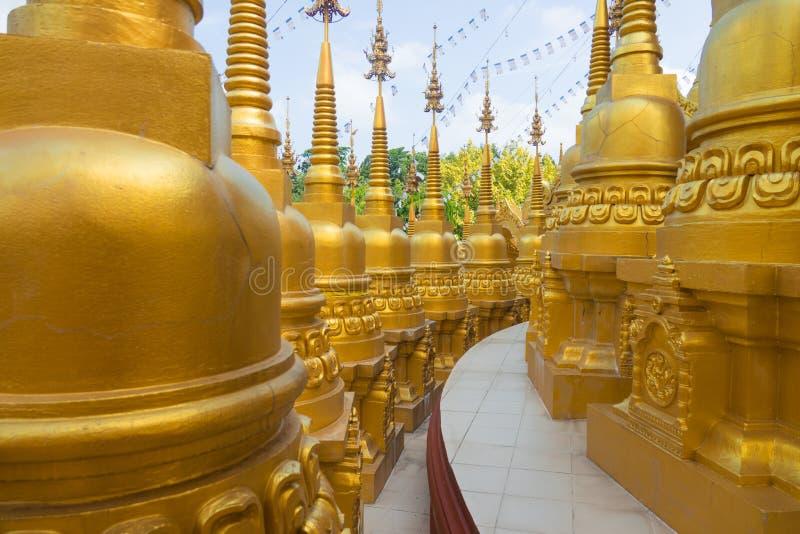 Pagode en Thaïlande photo libre de droits