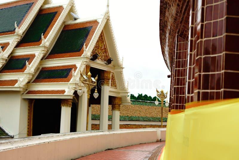 Pagode grande de Phra Pathom Chedi, província de Nakhon Pathom, Tailândia fotografia de stock