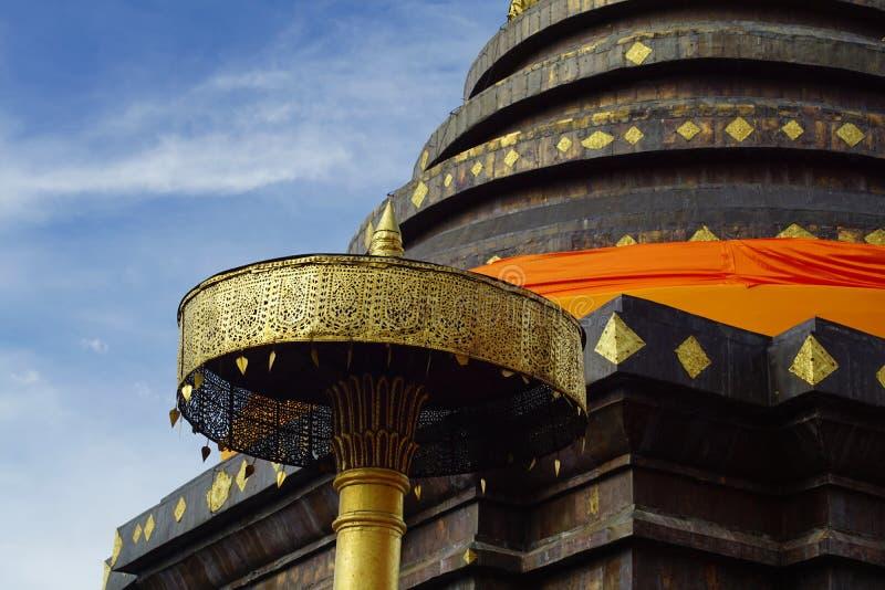 Pagode Pratat Lampang Luang, Thailand lizenzfreie stockfotos