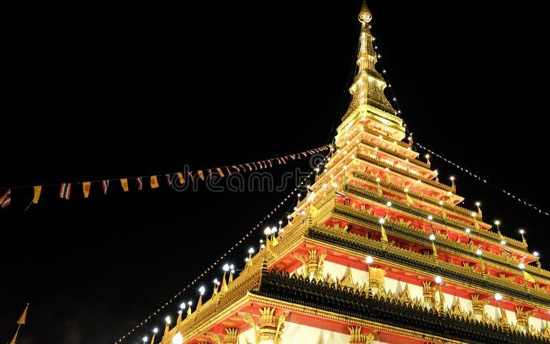 Pagode, stupa, toren royalty-vrije stock fotografie