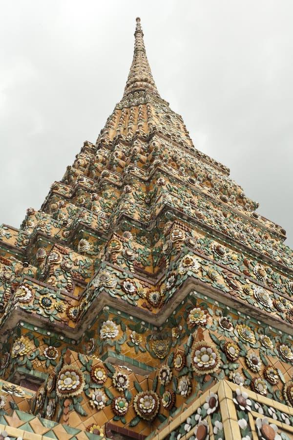 Pagode tailandês fotografia de stock