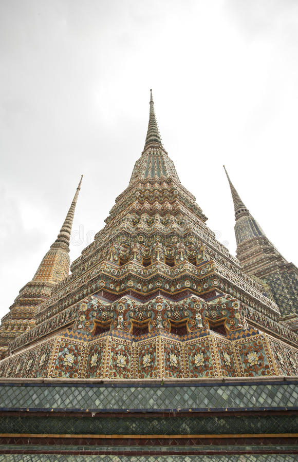 Pagode tailandês imagem de stock royalty free