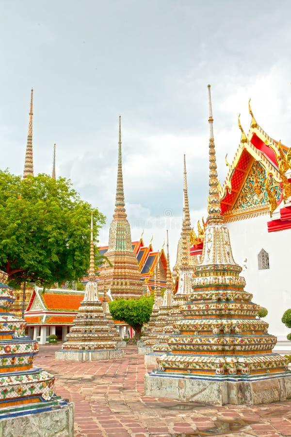 Pagode tailandês foto de stock