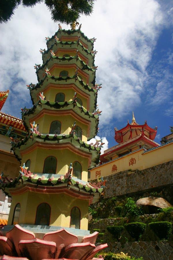 Pagode-Tempel lizenzfreie stockbilder