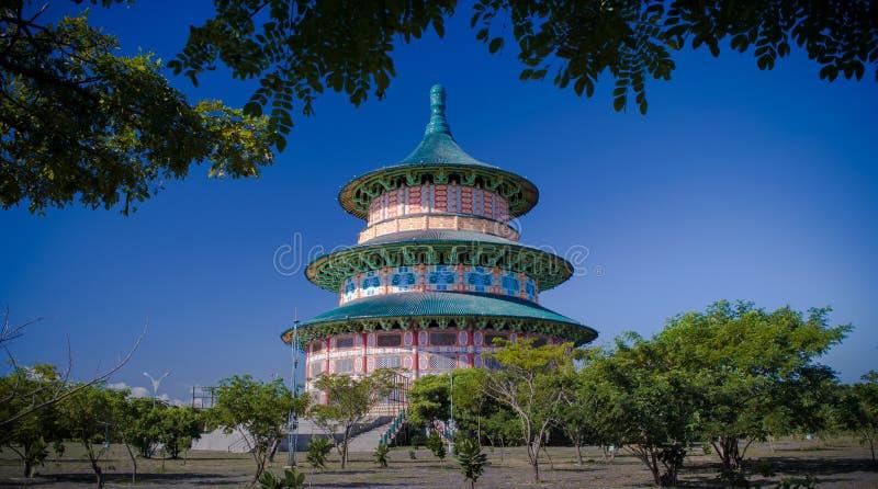 Pagode Tian Ti imagens de stock royalty free