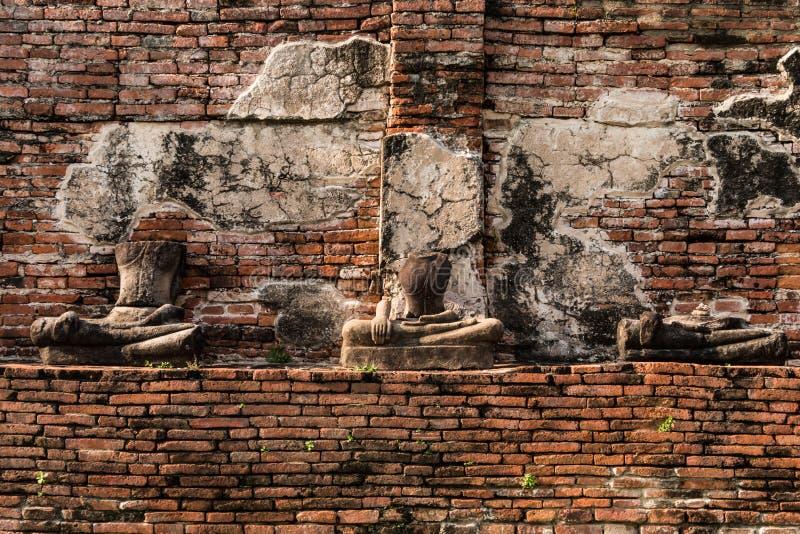 Download Pagode Und Buddha-Status Bei Wat Yai Chaimongkol Stockfoto - Bild von pagode, buddhismus: 47100878