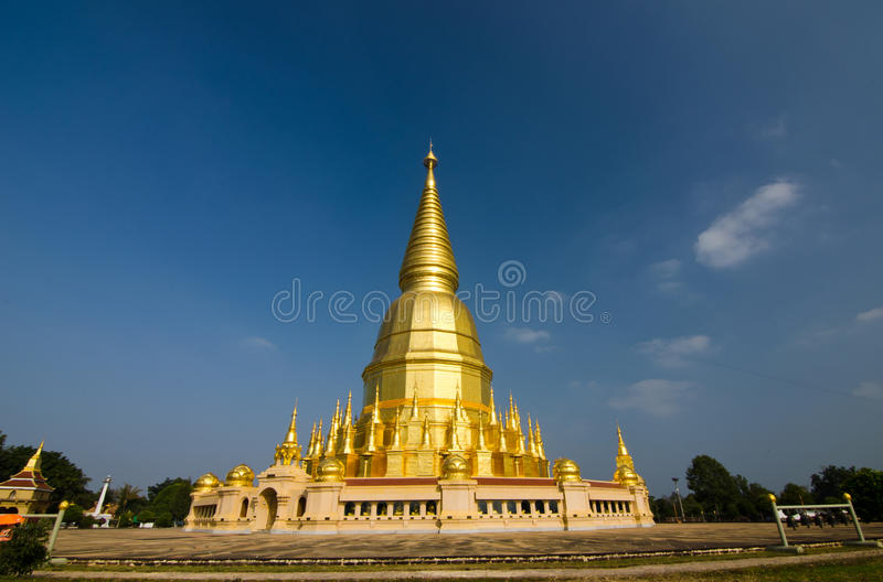 Pagode van Thailand stock foto