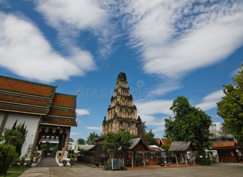 Pagode van Thailand stock fotografie