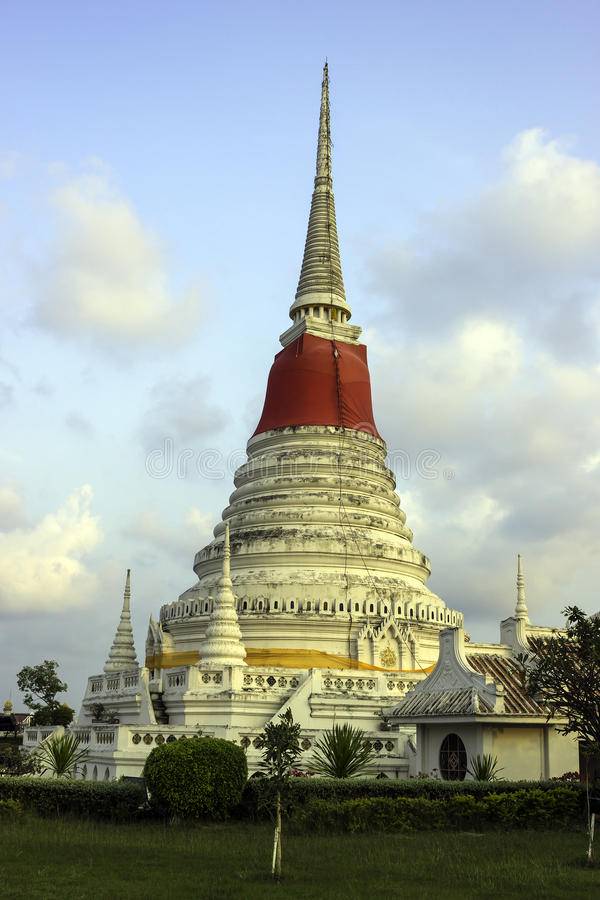 Pagode von Phra Samut Chedi lizenzfreie stockfotos