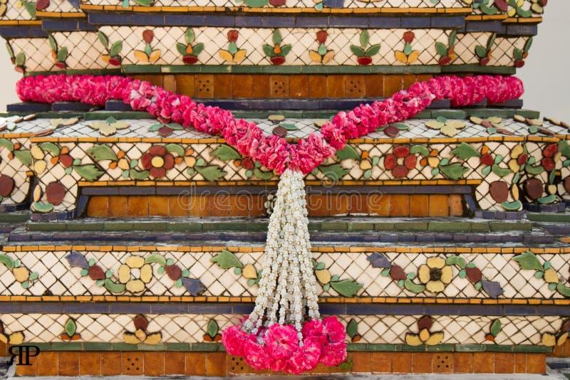 Pagodebloemen royalty-vrije stock foto