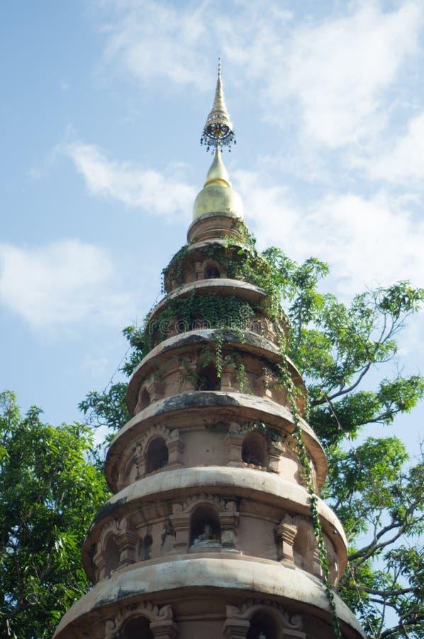 Pagoden av Chiang Mai arkivfoton