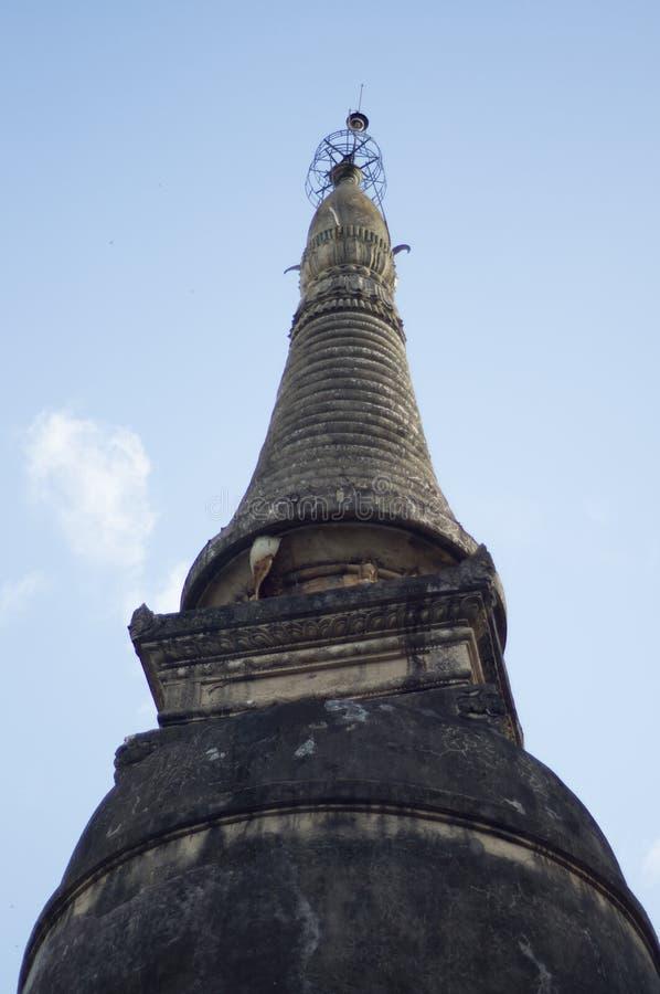 Pagoden av Chiang Mai royaltyfri bild