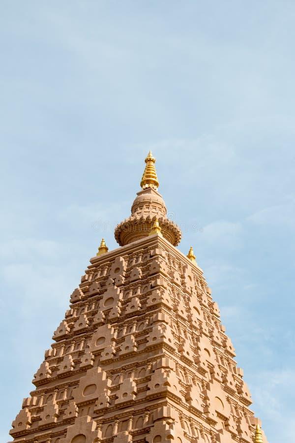 Pagoden lokaliseras i Wat Thakham, Chiang Mai Thailand royaltyfri fotografi