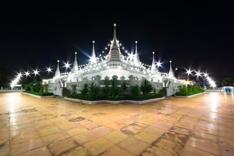 Pagodowa wata asokaram świątynia Tajlandia zdjęcie royalty free