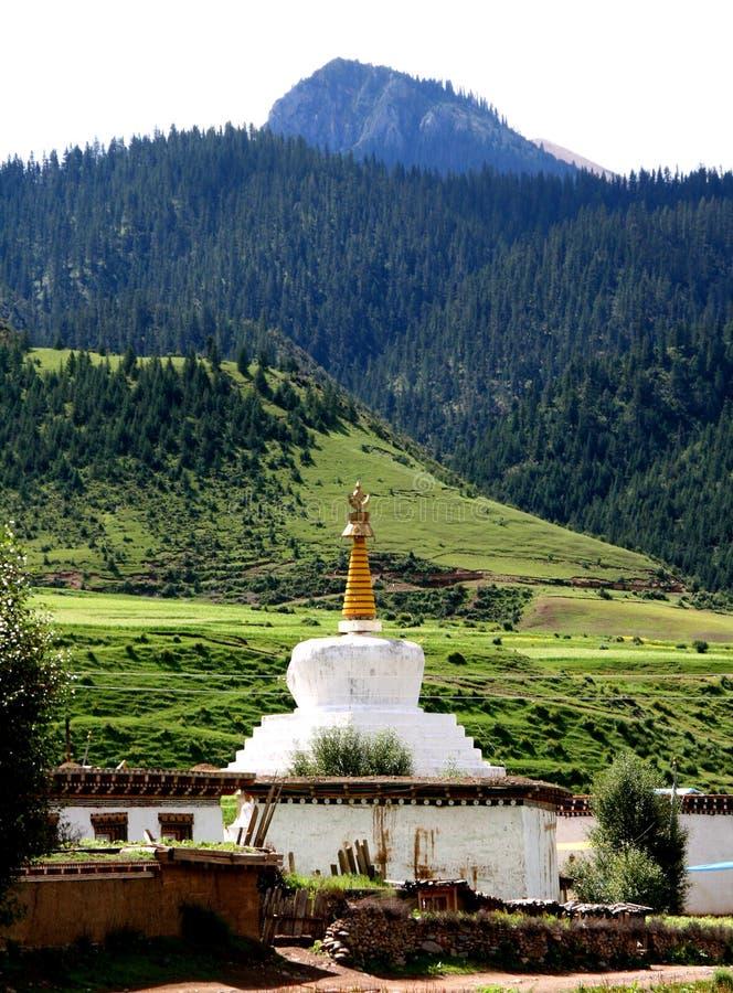 pagodowy biel zdjęcie stock