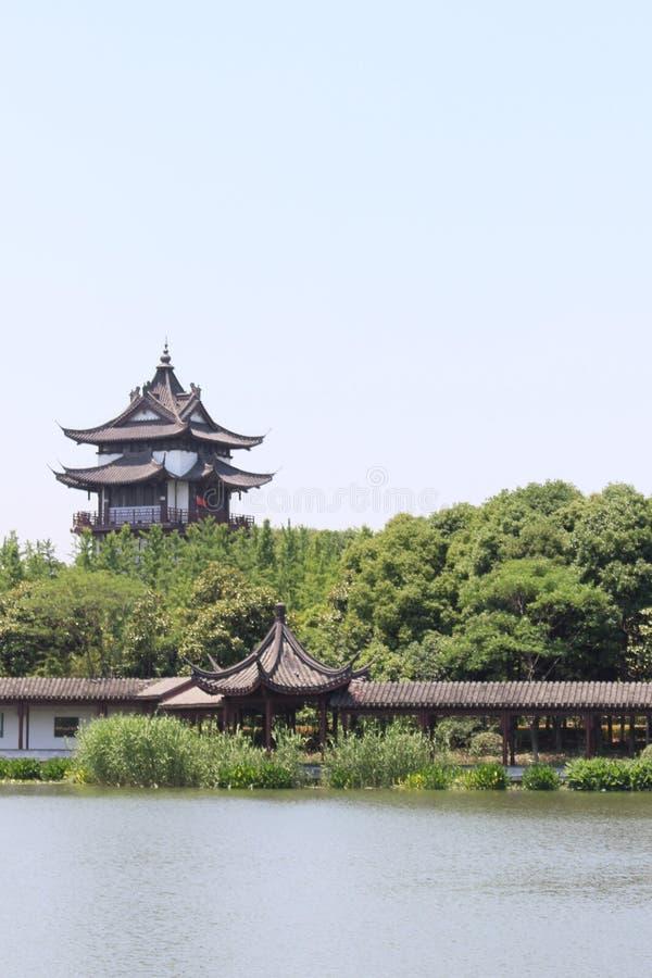 Pagody w Chiny zdjęcia royalty free