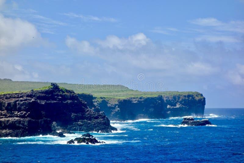 Pagos do ¡ de GalÃ, ilha de Espanola fotografia de stock