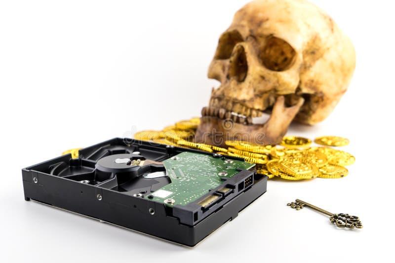 Pague acima antes que Malware comer seus DADOS imagens de stock