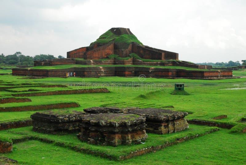 Paharpur Bihar Archeological sites in Bangladesh stock images