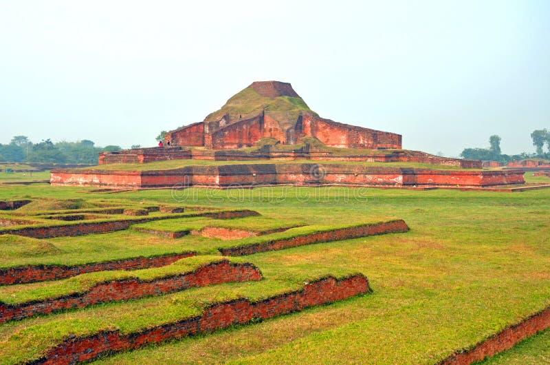 Paharpur tempel arkivfoto
