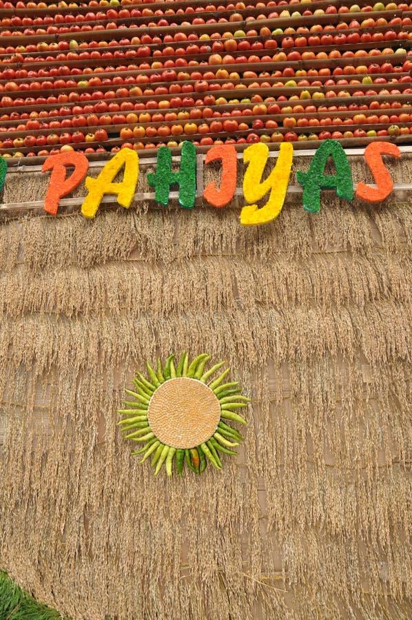 Pahiyas стоковое фото rf