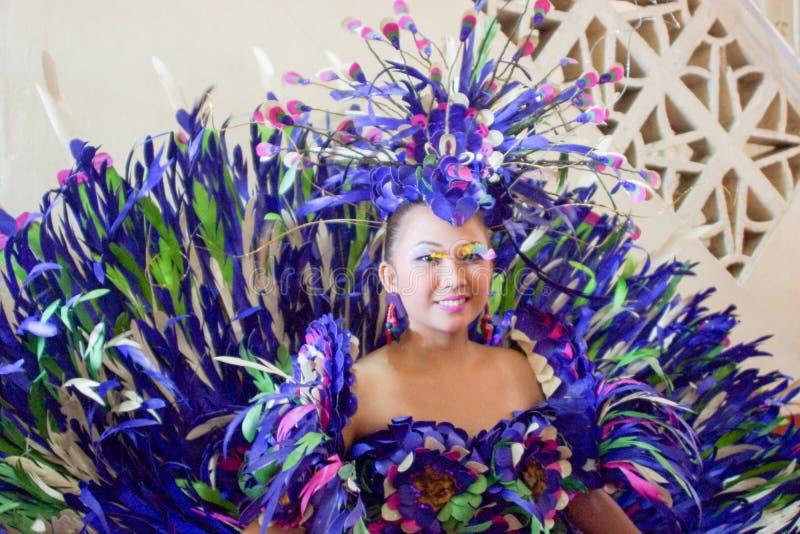 PAHIYAS festiwalu 2015 wykonawca zdjęcia stock