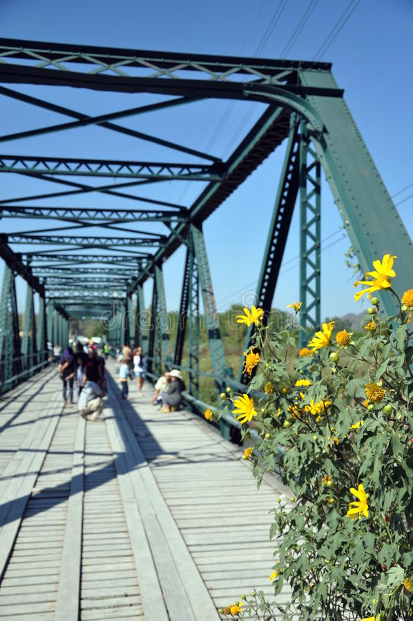 Pai Bridge stock photo
