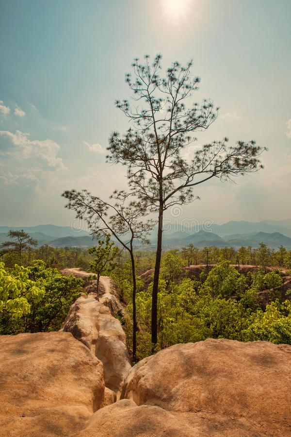 Pai canyon mountains. Maehongsorn, Thailand stock images