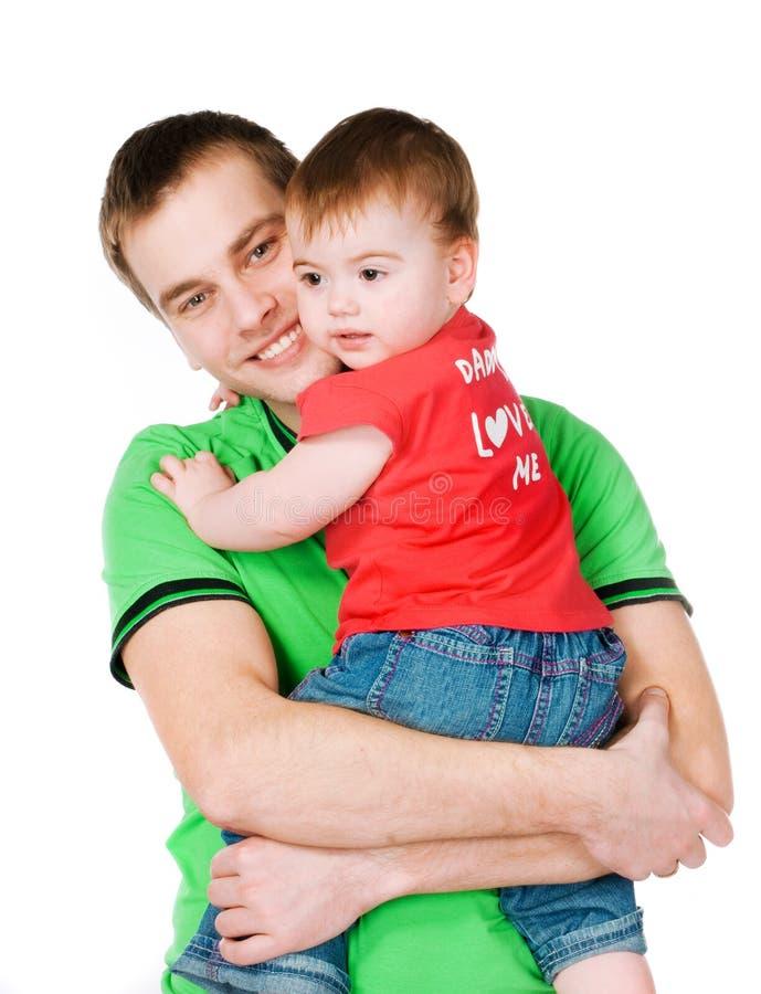 Pai com bebê fotos de stock royalty free