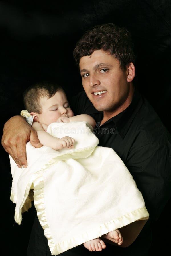 Download Pai e filha imagem de stock. Imagem de nascimento, infante - 68971