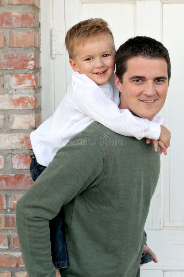 Pai e filho imagens de stock royalty free
