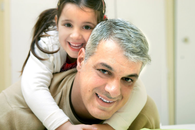Pai feliz imagem de stock royalty free