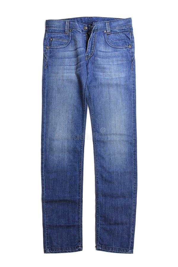 Paia delle blue jeans immagine stock libera da diritti