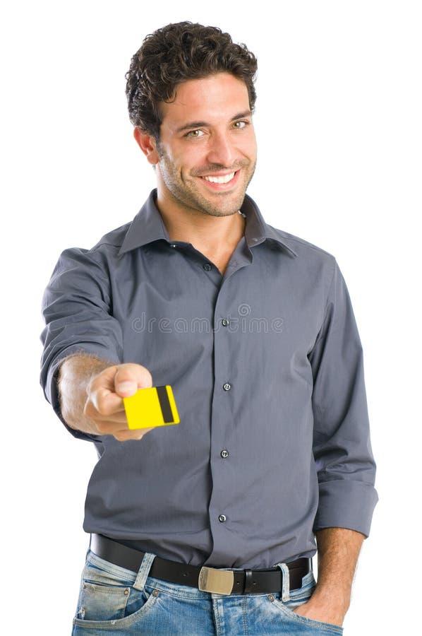 Paiement avec par la carte de crédit image stock