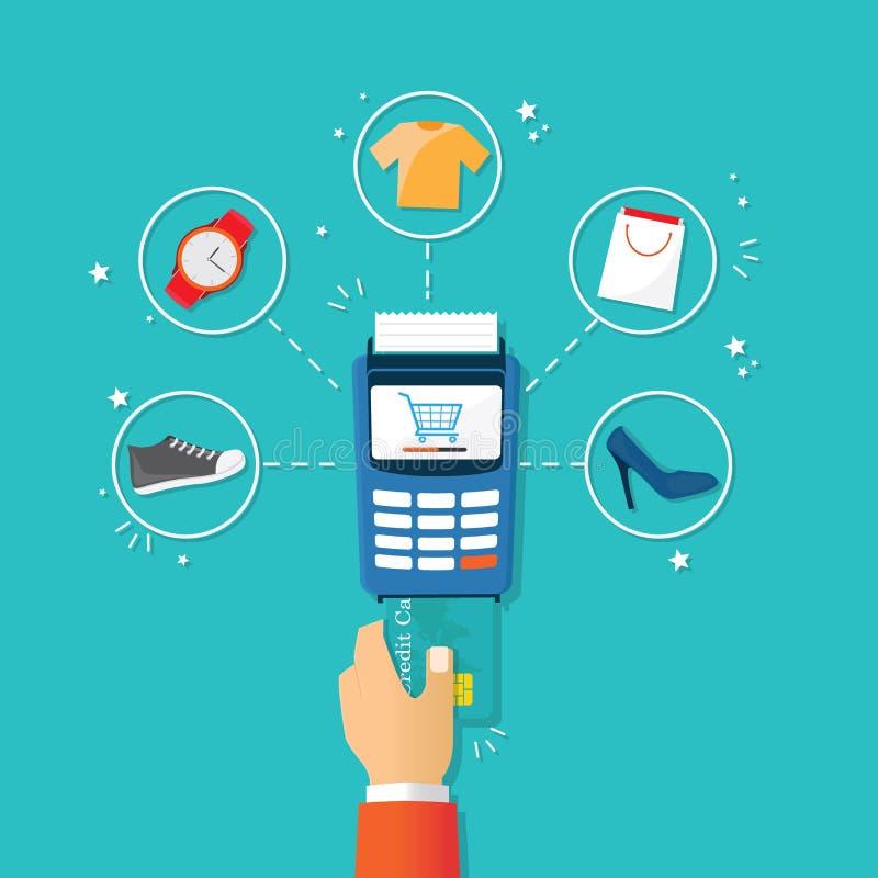 Paiement de crédit image stock