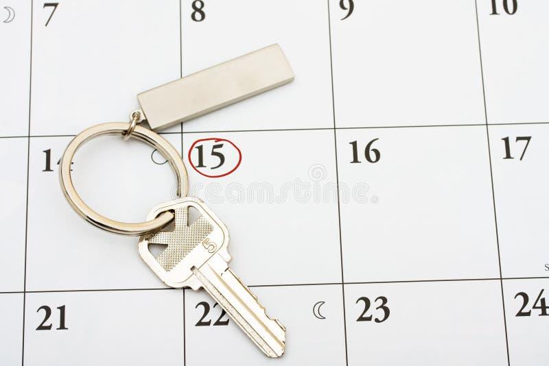 Paiement de votre hypothèque à l'heure images libres de droits