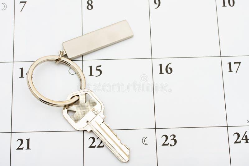 Paiement de votre hypothèque à l'heure photos stock
