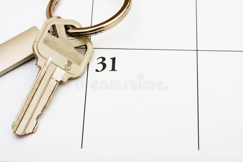 Paiement de votre hypothèque à l'heure photos libres de droits