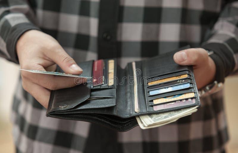 Paiement par la carte de crédit image libre de droits