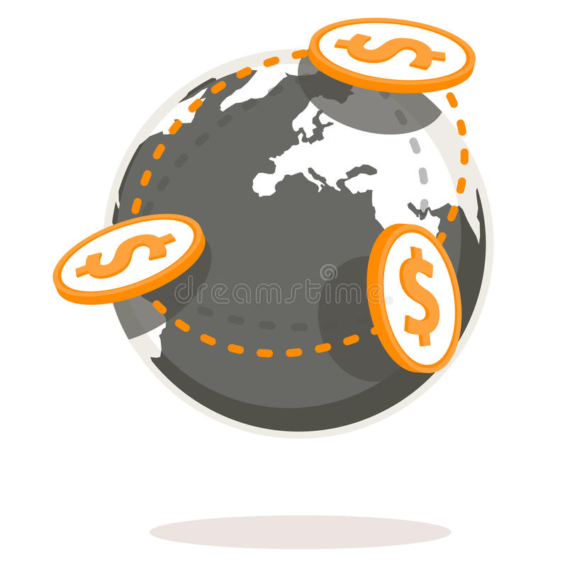 Paiements globaux photos stock