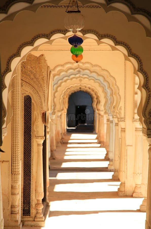 Paigah gravvalv, Hyderabad royaltyfri fotografi