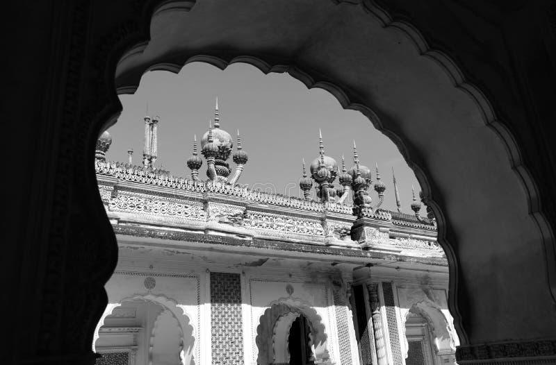 Paigah Tombs royaltyfria foton