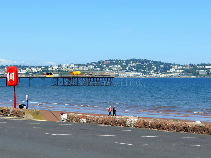 Torquay From Paignton, Devon  Editorial Image - Image of