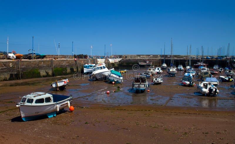 Paignton-Hafen stockbilder